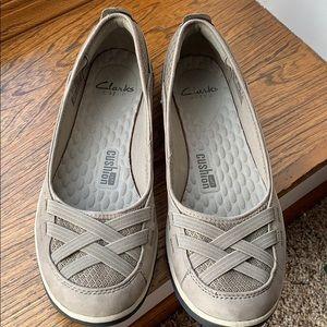 Clarks Soft Cushion Flats Shoes 11
